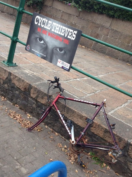 cycle thieves we are watching you