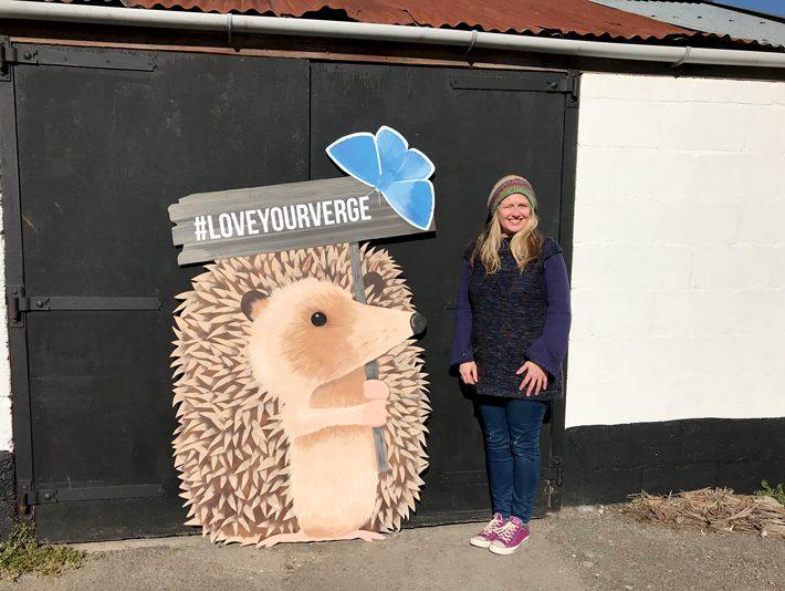 Artist Claire Nuttall