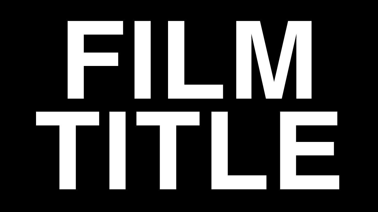 how to make a film trailer