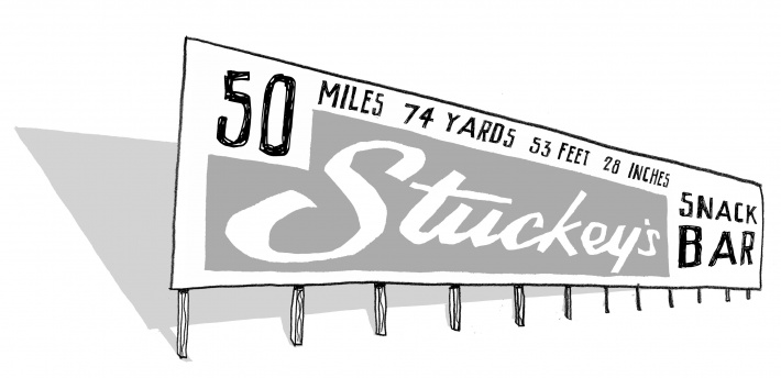 Stuckeys 50 miles