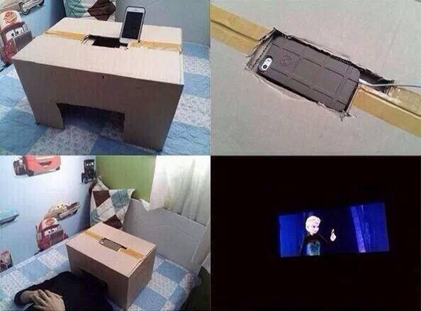 Phone cinema